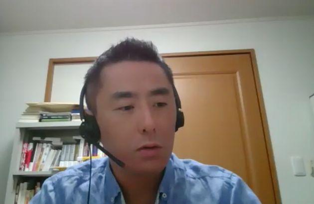 東京工業大の中島岳志教授