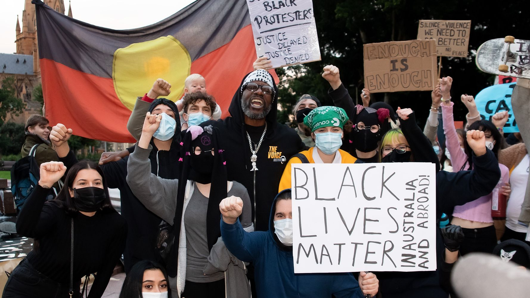 Where Are The Black Lives Matter Rallies In Australia And How Do I Protest Safely?