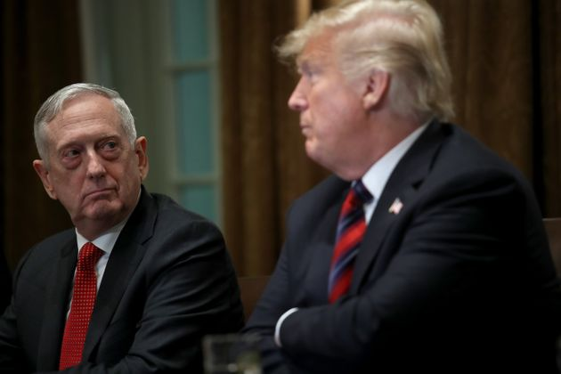 Jim Mattis, ex-ministre de La Défense de Trump l'accuse de menacer la Constitution (Photo:...
