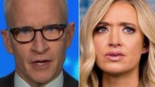 Anderson Cooper Dismantles Kayleigh McEnany's 'Like Churchill' Defense Of Trump