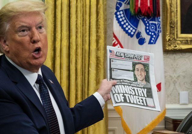 Donald Trump, premier résultat lorsqu'on cherche