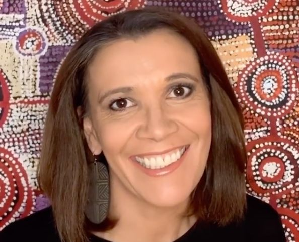 Indigenous Australian TV host Shelley