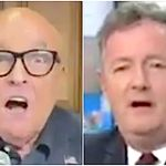 Rudy Giuliani's TV Fight With Piers Morgan Goes Wildly Off The