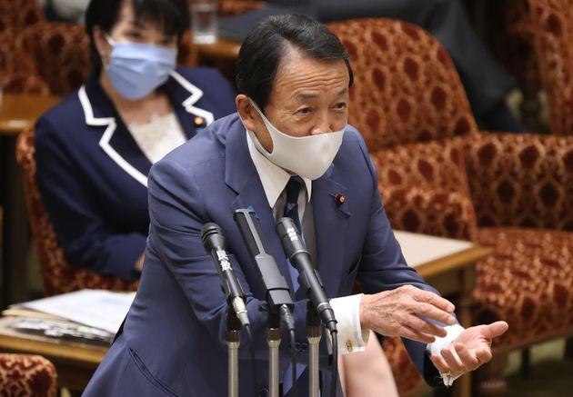 麻生太郎氏(5月27日)