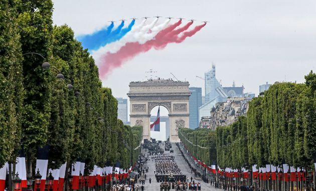 Η Γαλλία ακυρώνει την παρέλαση για την Ημέρα της Βαστίλης λόγω