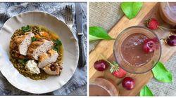 Κυριακάτικο Τραπέζι: Στήθος κοτόπουλο με φακές στο φούρνο και η πιο εύκολη σοκολατένια