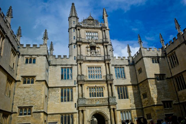 The Tower of The Five Orders, Bodleian Library, Oxford