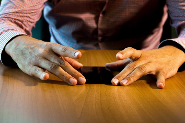 Detalles de las manos de
