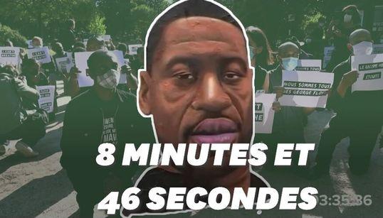 8 minutes et 46 secondes pour se souvenir de George Floyd et des victimes de violences policières dans le