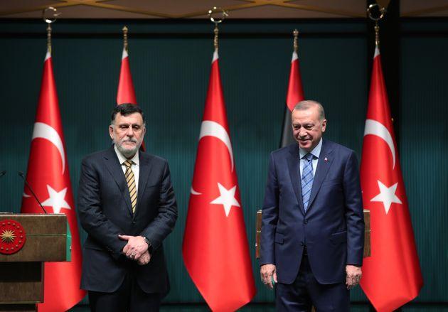 Ερντογάν: Αυξάνουμε τη στήριξη στην κυβέρνηση Σάρατζ, προχωρούμε με τις έρευνες και τις γεωτρήσεις στην...