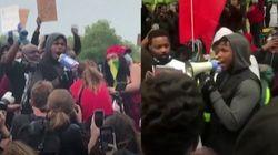 El actor de 'Star Wars' John Boyega se une a las protestas contra el