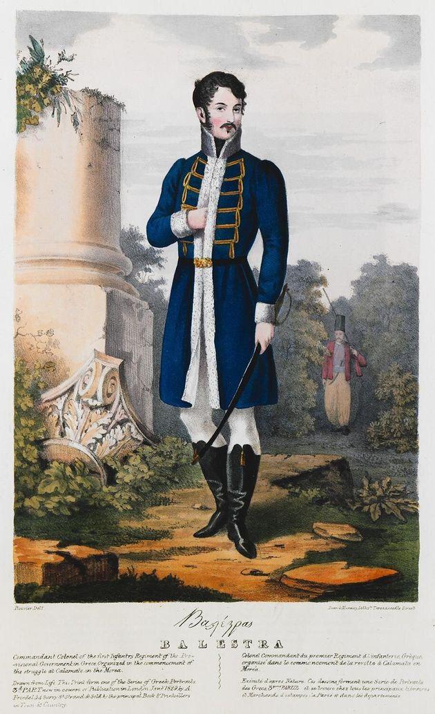 Joseph Baleste, πορτρέτο του Adam Friedel. Συλλογή