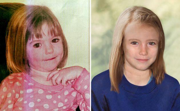 La police britannique a publié en 2012 une photo du visage que pourrait avoir Maddie McCann à 9