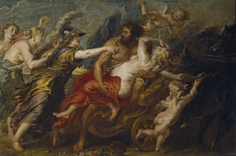 The Rape of Proserpina, 1636-1638. Artist: Rubens, Pieter Paul (1577-1640) (Photo by Fine Art Images/Heritage...
