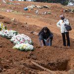 Brasil supera Itália em mortes por covid-19, tem novo recorde e acumula 34.021 vítimas