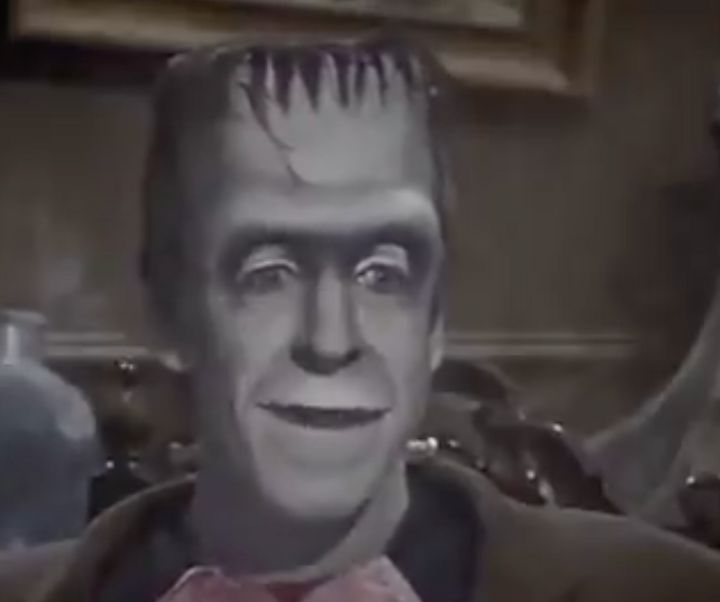 A clip of Herman Munster preaching tolerance for all types is going viral on Twitter.