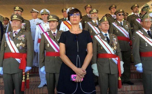 María Gámez, en un
