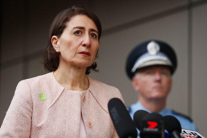Premier of NSW, Gladys Berejiklian (Photo by Brendon Thorne/Getty Images)