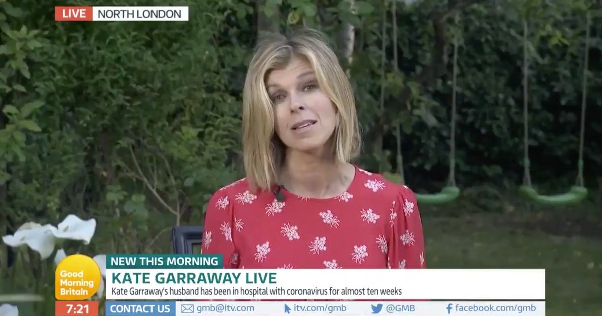 Kate Garraway Reveals Husband Is Free Of Covid-19 But Disease Has 'Wreaked Extraordinary Damage'