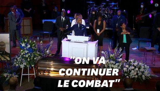 """""""Enlevez votre genou de nos cous"""", le poignant discours d'Al Sharpton en hommage à George"""