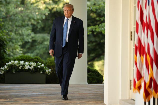 Donald Trump, ici à la Maison Blanche à Washington, le 1er juin