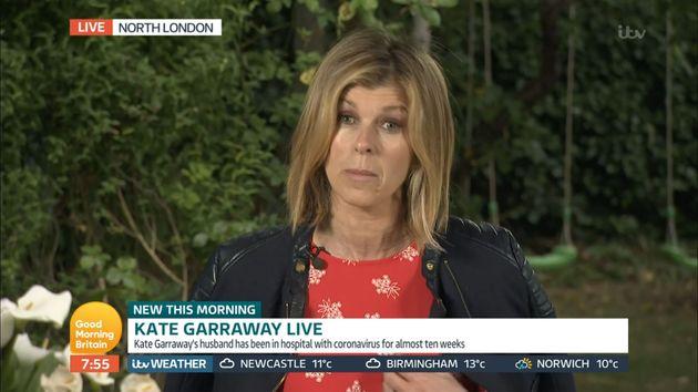 Kate Garraway interviewed during Friday's Good Morning