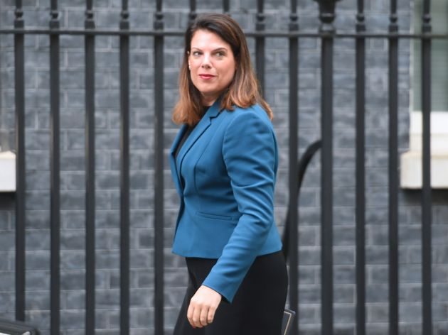 Minister of State for Immigration Caroline Nokes arrives for a cabinet meeting at 10 Downing Street,
