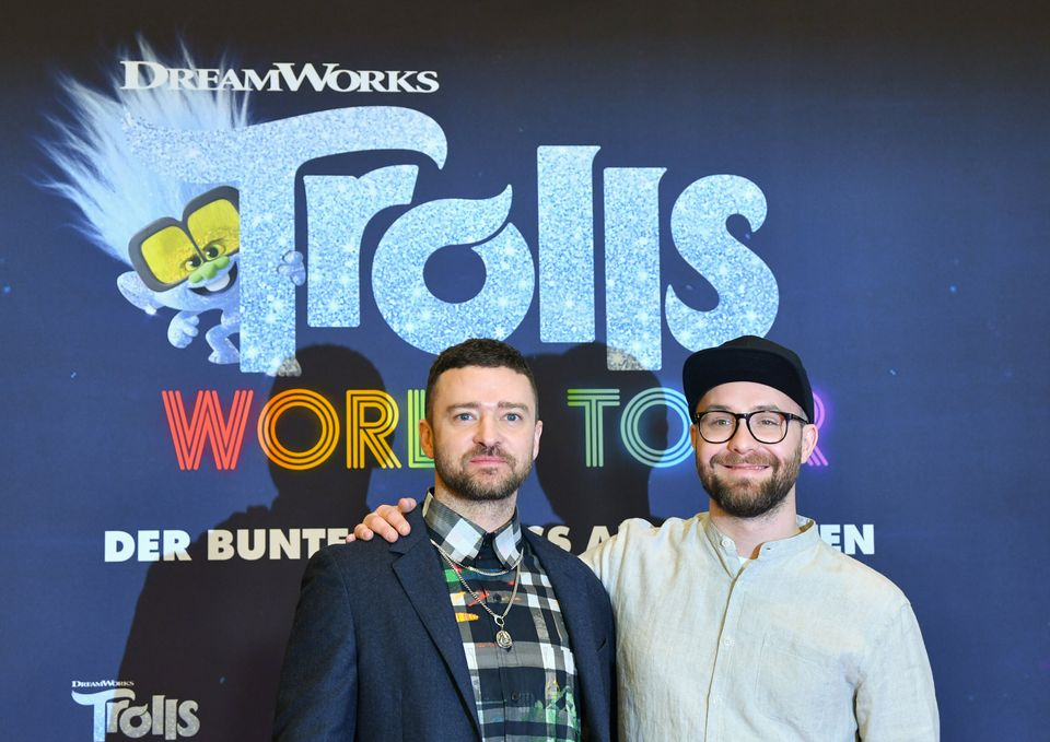 Justin Timberlake and singer Mark Foster are both stars of Trolls World Tour, which went straight to...
