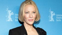 Cate Blanchett Insists She's Fine After Injuring Head During 'A Bit Of A Chainsaw