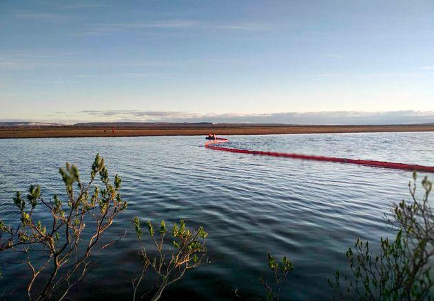 Ρωσία: Υπό έλεγχο η πετρελαιοκηλίδα στον Αρκτικό