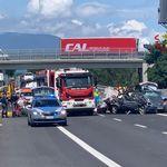 Grave incidente sull'A1 vicino Arezzo: 4 morti, 2 sono