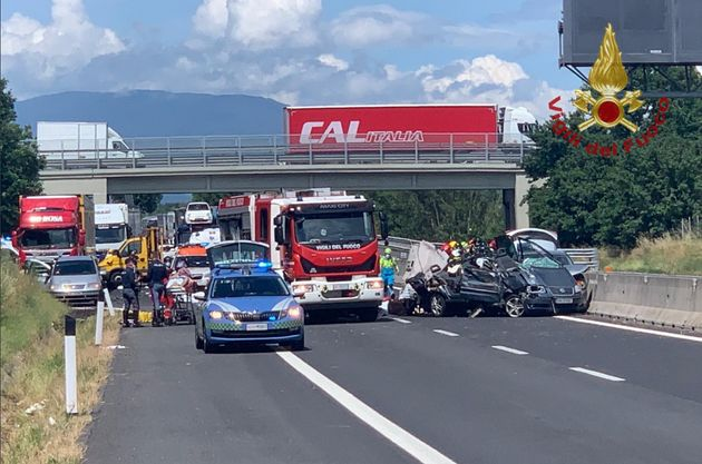 L'incidente sulla A1