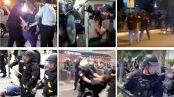 9 brutales casos de violencia policial durante las protestas contra la violencia