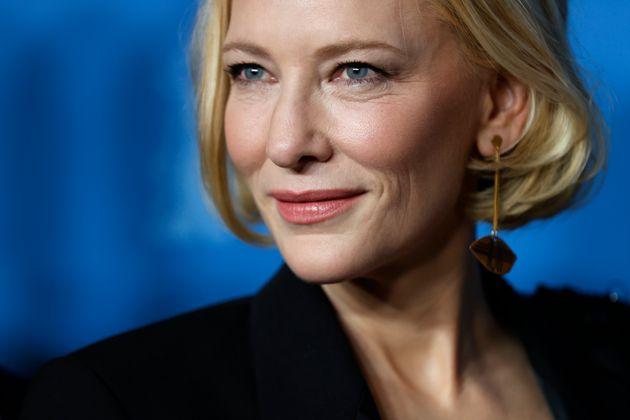 Cate Blanchett, herida en la cabeza por un accidente doméstico con una