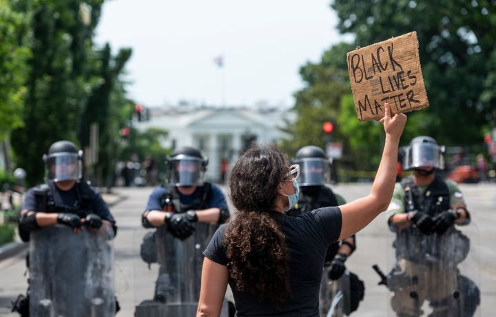 Federal security forces occupied Washington streets during Black Lives Matter protests on Wednesday.