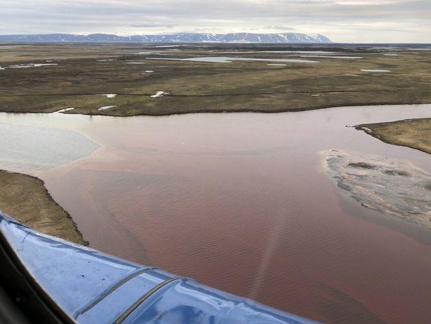 À Norilsk, en Russie, une fuite massive d'hydrocarbure a largement pollué une zone de