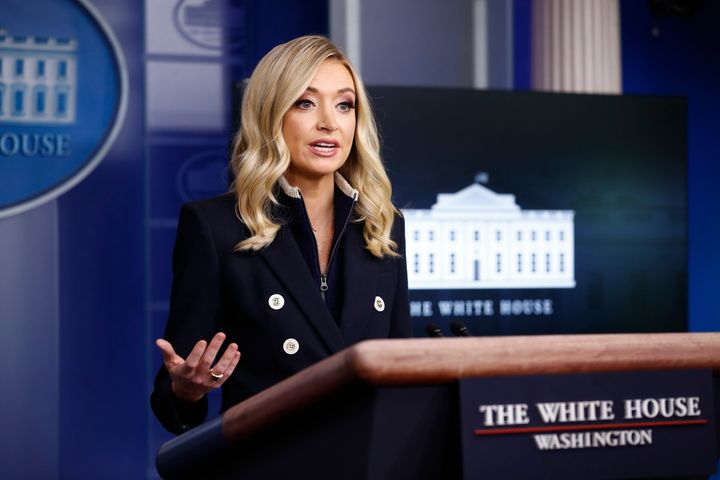White House press secretary Kayleigh McEnany frequently repeats Trump's false claims that mail-in ballots increase fraud, but