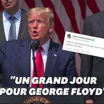 Trump se réjouit des chiffres du chômage et invoque George