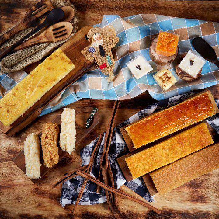Imagem com itens do kit de festa de junina vendido pela Dona Deola em SP