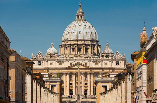 The Vatican featuring St. Peter's Basilica, Rome,