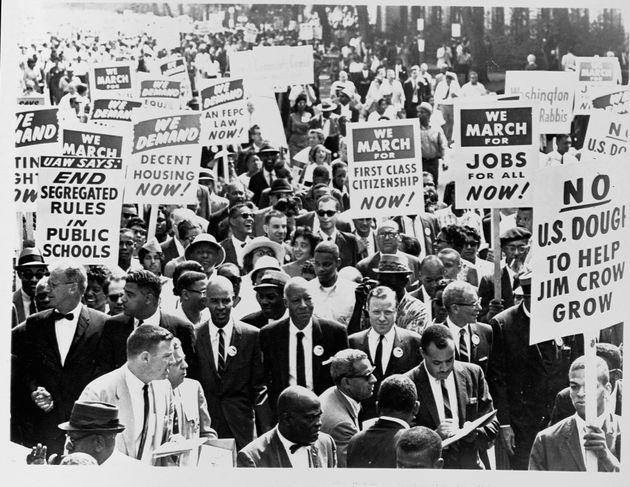 250.000 διαδηλωτές στο Lincoln Memorial...