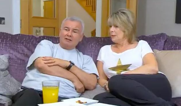 Eamonnn Holmes and Ruth Langsford on Celebrity