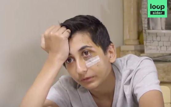Gabriel, 14 ans et défiguré après une interpellation, s'exprime pour la première
