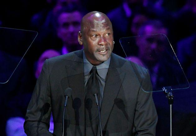 Michael Jordan, 24 février