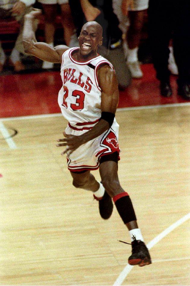 Michael Jordan em 14 de junho de 1992 quando jogava no Chicago