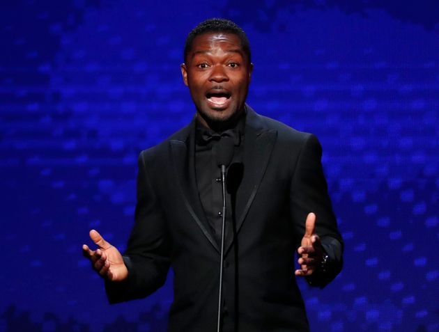 O ator David Oyelowo, que interpretou Martin Luther King Jr. no filme 'Selma' em 2019 durante evento...