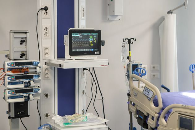 The new intensive care unit at Sacco Hospital in Milan, Italy, May 29 2020. Inauguration of the new intensive...