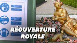 Les images de la réouverture du château de Versailles fermé depuis 80