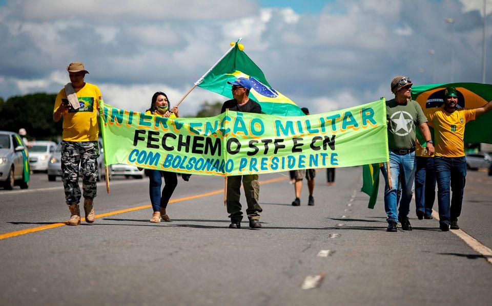 Pesquisa Datafolha de janeiro deste ano indica recuo no apoio de brasileiros à