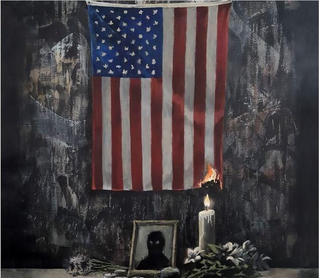 Ο Banksy για τον ρατσισμό στις ΗΠΑ: «Το πρόβλημα είναι των